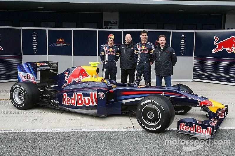 El primer Red Bull que logró ganar carreras en F1
