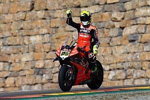 Fotogallery SBK: anche Aragon è rossa Ducati con Bautista