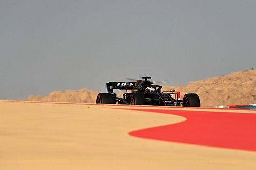 Tes Bahrain: Grosjean memimpin sebelum hujan