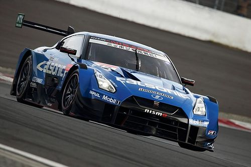 Nissan stays on top as Fuji Super GT test begins