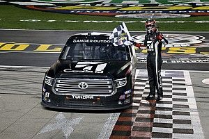 Kyle Busch makes it 4-for-4 in Truck series with Texas win