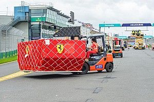 Fontos F1-es csomagok érkeztek az Ausztrál Nagydíj helyszínére
