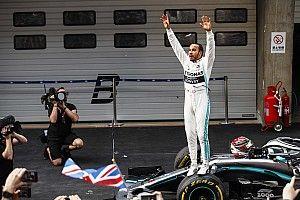 """Hamilton s'offre une 75e victoire lors d'un GP """"vraiment spécial"""""""