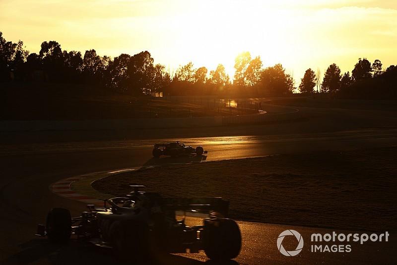 Galería: el bonito atardecer de la Fórmula 1 en Barcelona