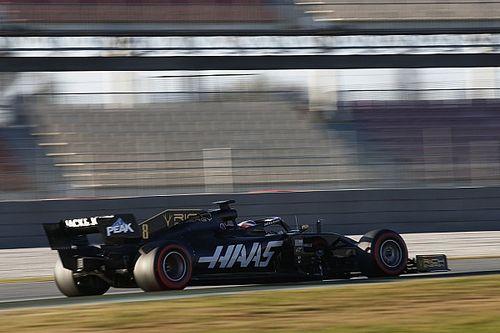F1: Ferrari e Haas tiveram problemas no escapamento em teste