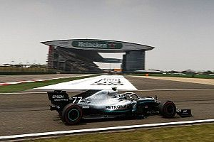 Formel-1-Training China: Bottas hauchdünn vor Vettel