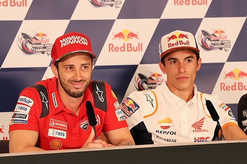 "Dovizioso: Marquez ""doesn't have everything under control"""