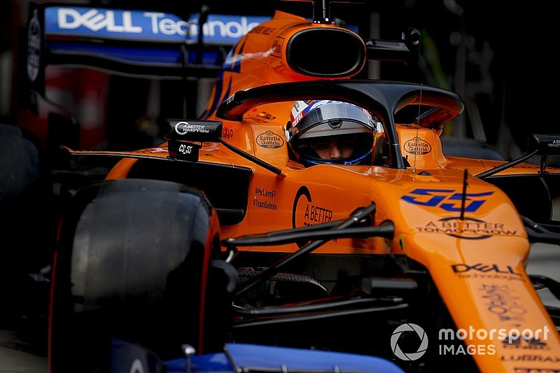Sainz alatt is meglódult a McLaren