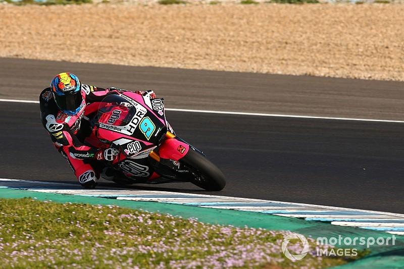 Moto2, Jerez, Libere 1: Navarro da record davanti alle KTM, sessione nera per Baldassarri