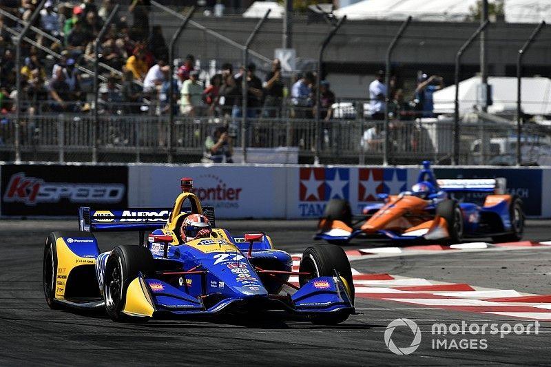 Long Beach IndyCar: Rossi edges Rahal, Dixon in third practice