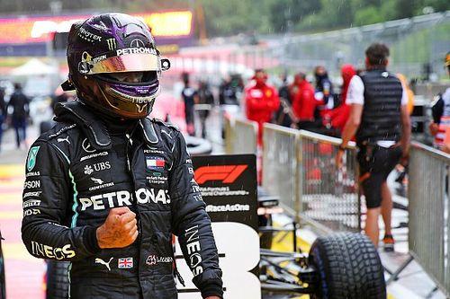 La pioggia evidenzia un fatto: la superiorità di Lewis Hamilton