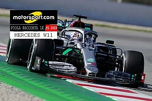 Video, Piola racconta le F1 2020: Mercedes W11