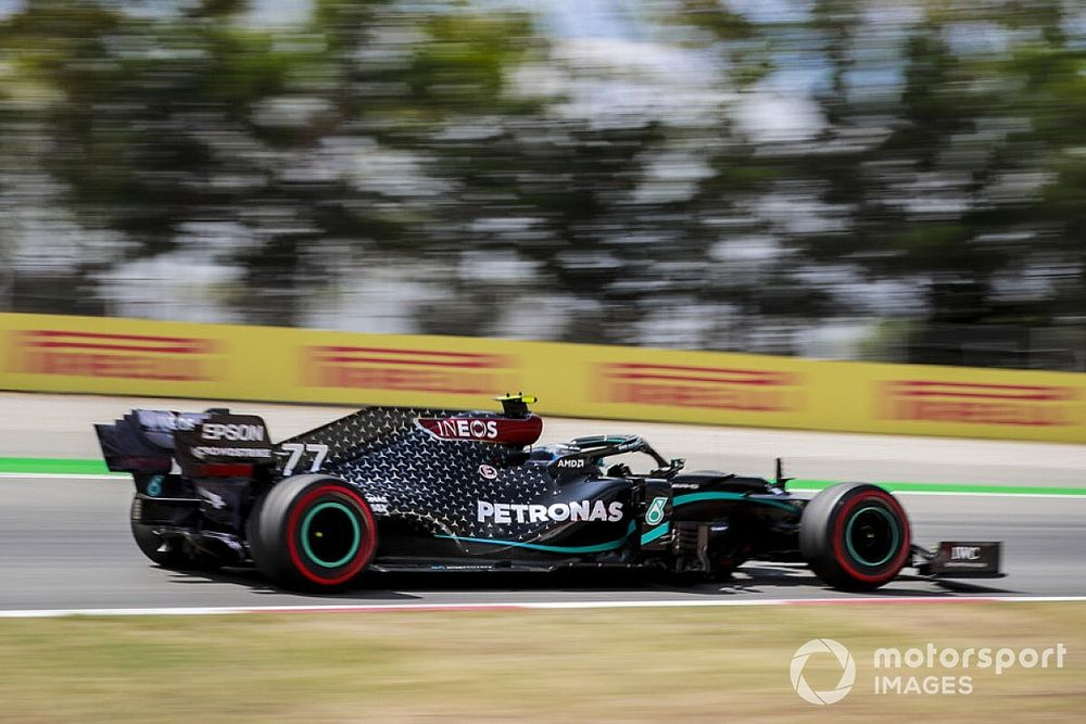 2020 F1 Spanish GP full Friday practice results