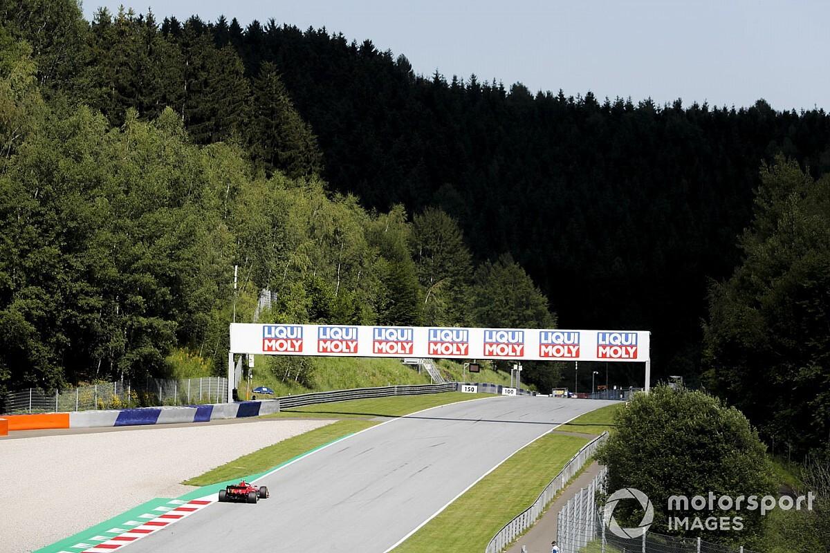 Avusturya'da beklenen yağmur geldi, F3 yarışı erken bitirildi!