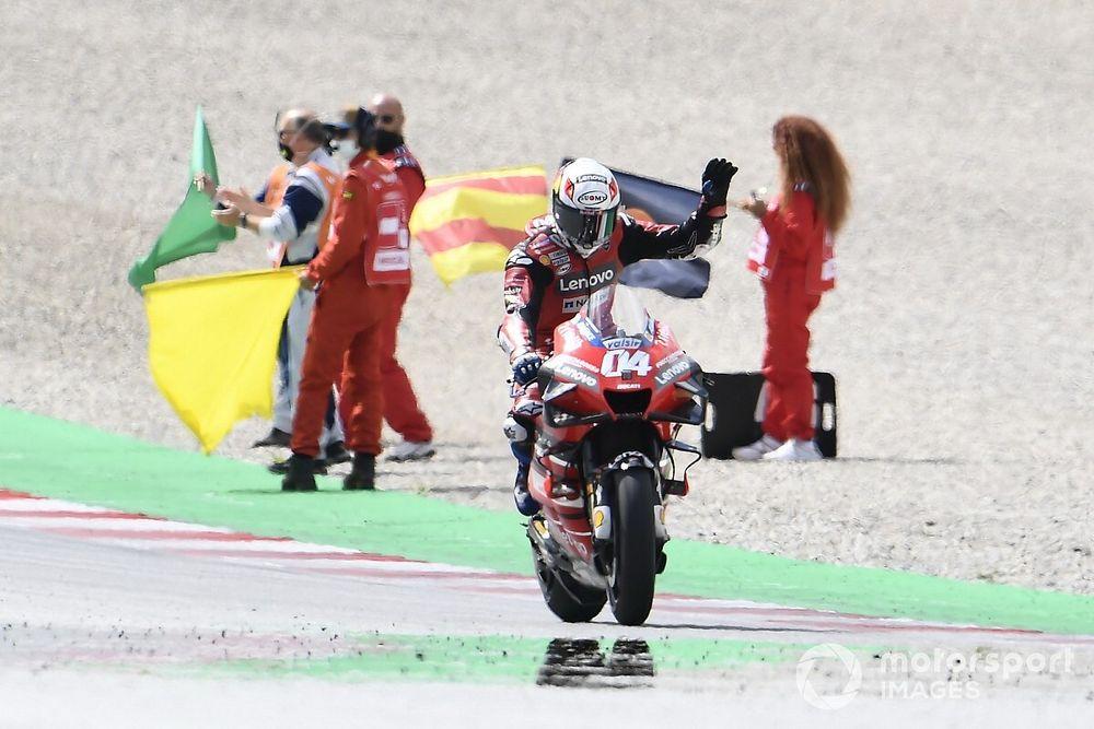 Course - Dovizioso sort vainqueur d'une course chaotique