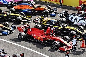 El Ferrari, ni entre los tres mejores coches pese a las mejoras