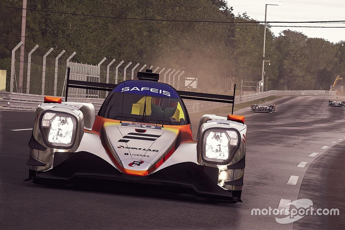 Livery van Verstappen voor de virtuele 24 uur van Le Mans