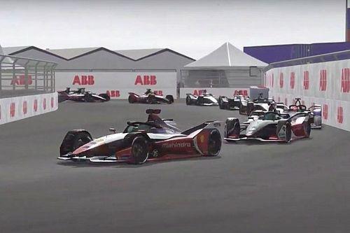 Kijk terug: Vierde ronde van sim-kampioenschap Formula E: Accelerate