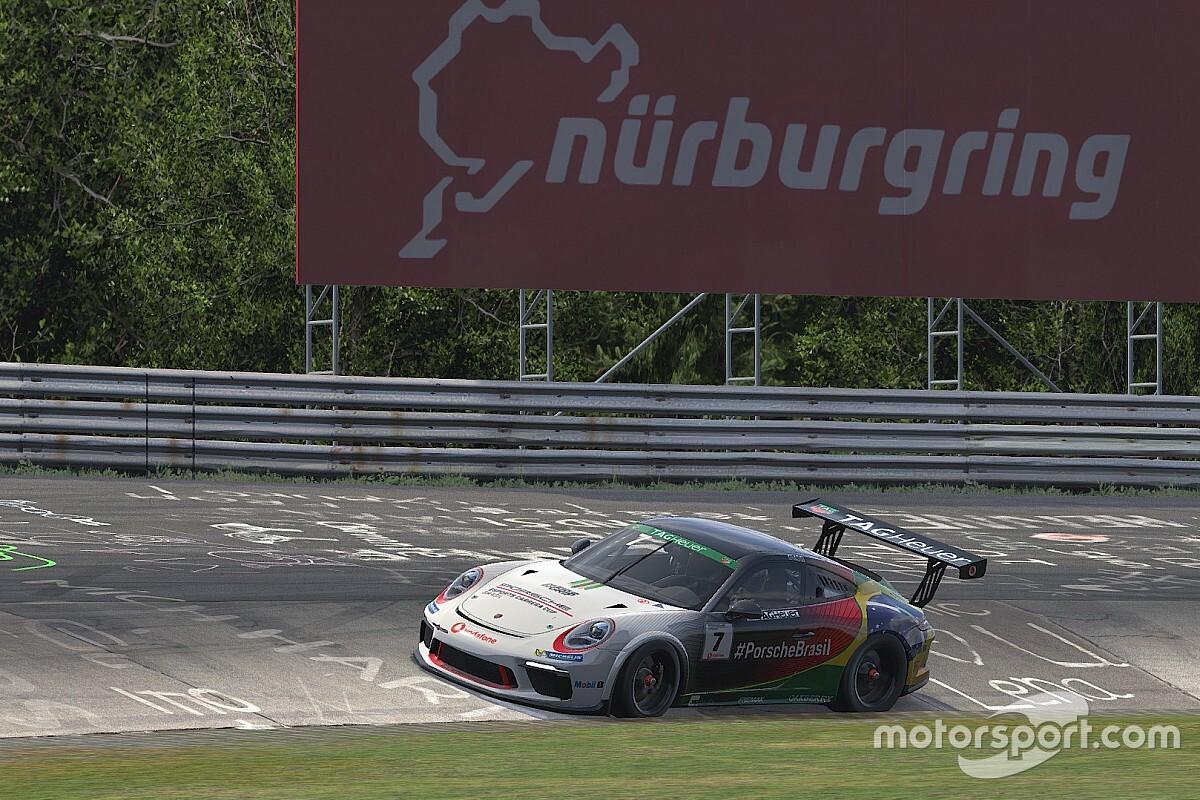 Giassi encara Nurburgring Nordschleife pela Porsche TAG Heuer Esports Supercup