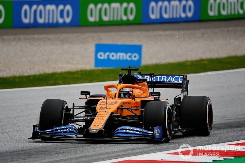 Sainz rassuré de retrouver les qualités de la McLaren