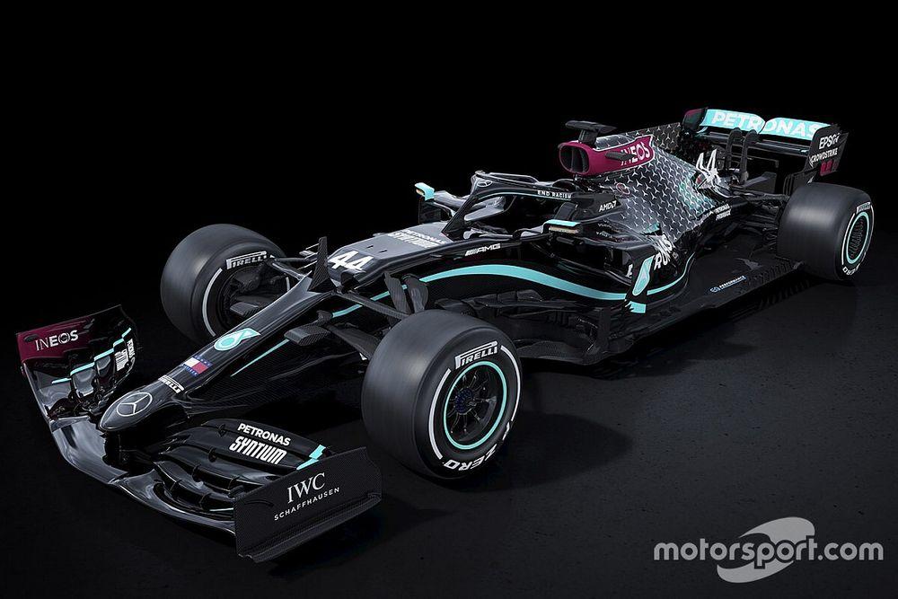 فريق مرسيدس ينتقل إلى استخدام اللّون الأسود على سيارته في 2020