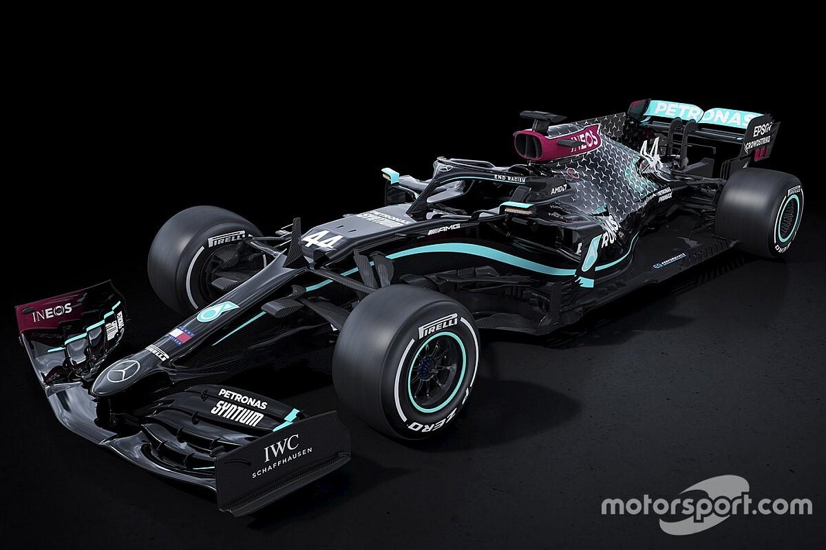 Mercedes, ırkçılığa karşı tamamen siyah renkle yarışacak!