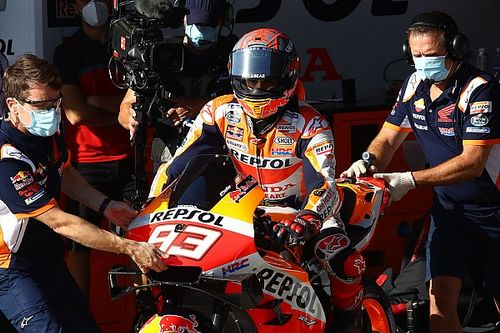 """Márquez: """"Le prometí a Honda que si me sentía inseguro pararía y es lo que he hecho"""""""