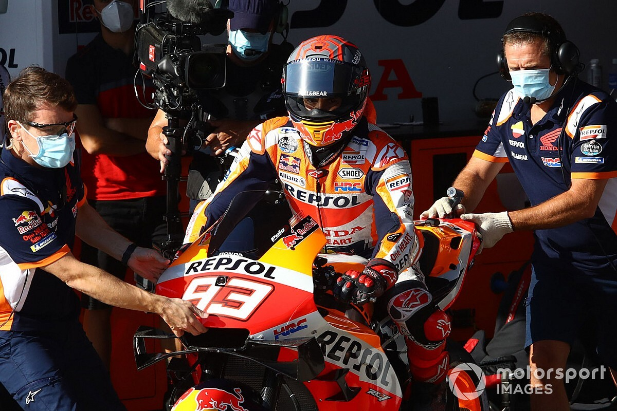 "Marquez opens up on why comeback bid ""became dangerous"""