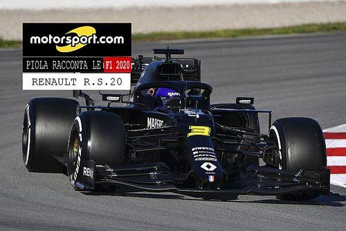 Video, Piola racconta le Formula 1 2020: Renault R.S.20