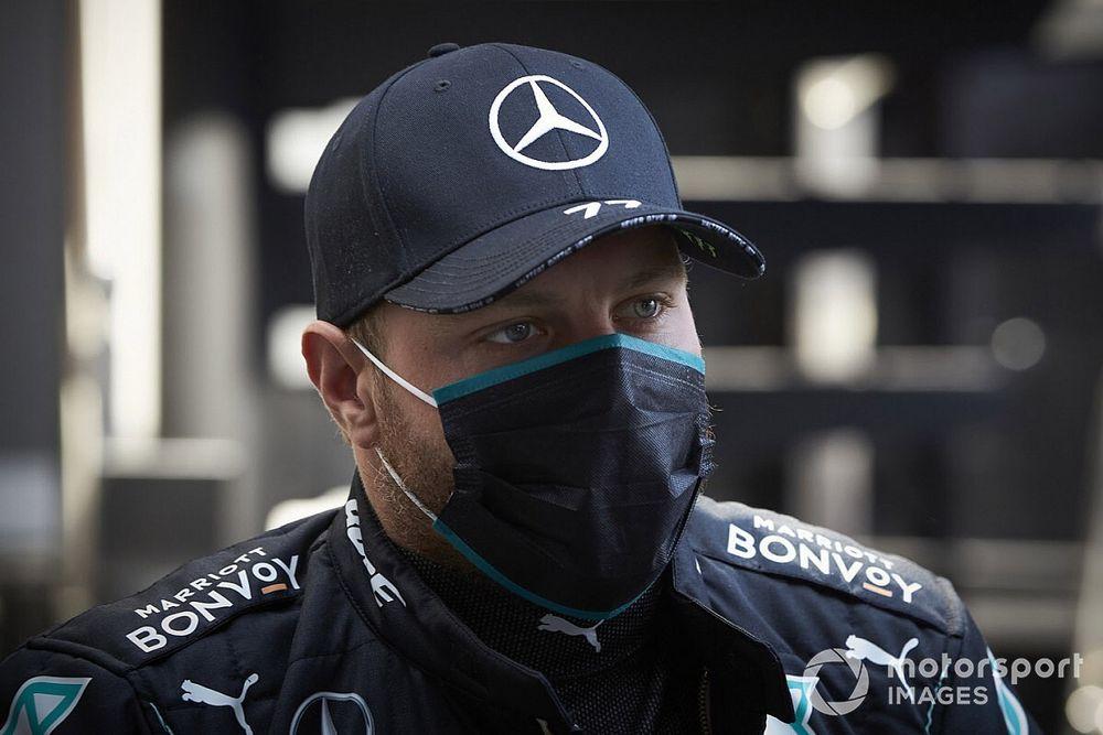 Bottas culpa al mono negro de perder 3 kg en el GP de España