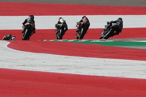 Гонку MotoGP остановили из-за разрушительной аварии