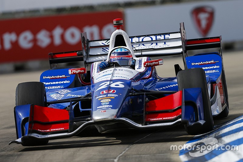 Takuma Sato logra la pole para la segunda carrera en Detroit