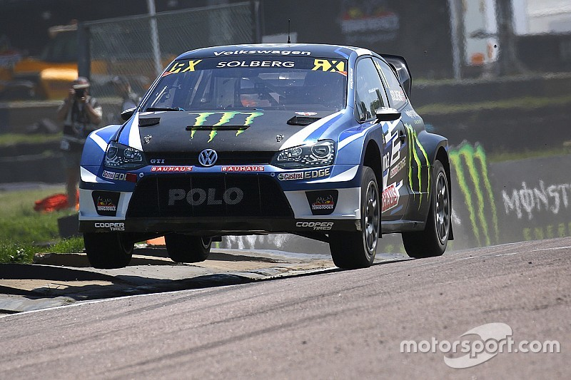 Lydden WRX: Solberg leads Volkswagen 1-2 after Saturday