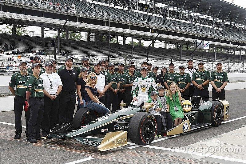 Carpenter: Dixon's lap speeds took the pressure off