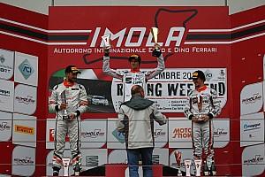 Gara 2: Nicolò Liana è re della pioggia ad Imola