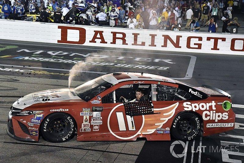 Both Hamlin's Cup and Xfinity wins at Darlington deemed encumbered