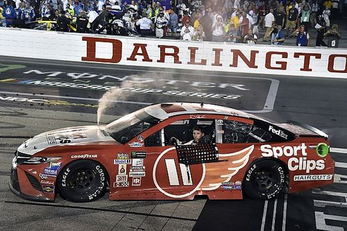 Both Hamlin's Cup and Xfinity wins at Darlington deemed encumbered