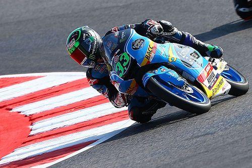 Moto3: Pole de Bastianini con un susto de Loi