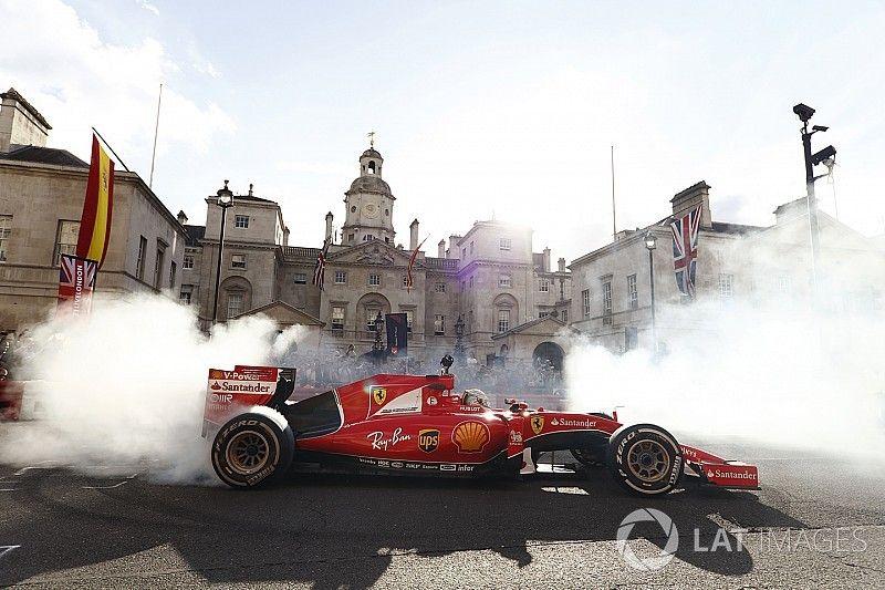 Las mejores fotos de la exhibición de la Fórmula 1 en Londres