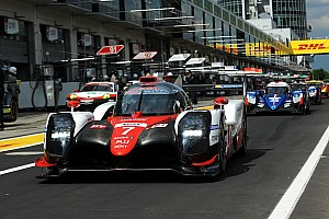 WEC Verslag vrije training WEC Nürburgring: Toyota snel in derde training
