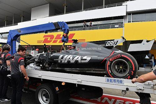 Grosjean heeft geen verklaring voor Q1-crash Suzuka