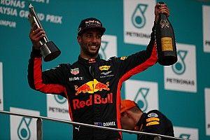 Red Bull acepta no estar preparado si se va Ricciardo en 2019