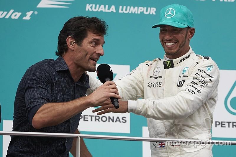 Webber: não conheço as fraquezas de Hamilton, e isso o deixa perigoso