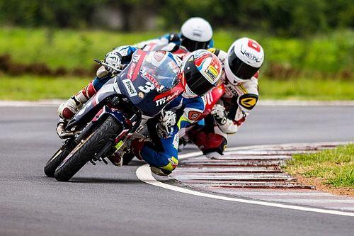 Chennai National Motorcycle: Jagan leads TVS 1-2