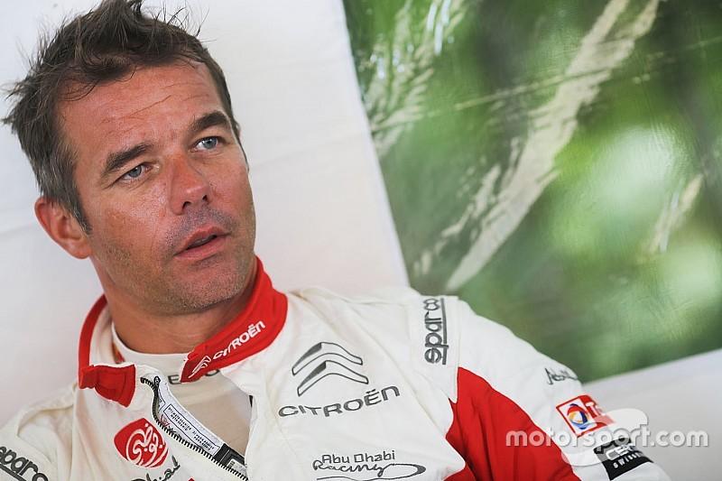 Sebastien Loeb test woensdag op gravel met WRC-Citroën