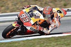 GALERI: Aksi pembalap MotoGP pada Sabtu