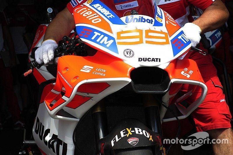 Bildergalerie: Die neue Verkleidung der MotoGP-Ducati GP17