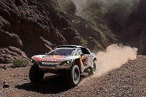 Loeb philosophical about losing Dakar to Peterhansel