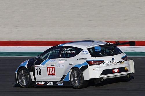 Cosimo Barberini al via del TCR Italia a Imola con il team Nos Racing