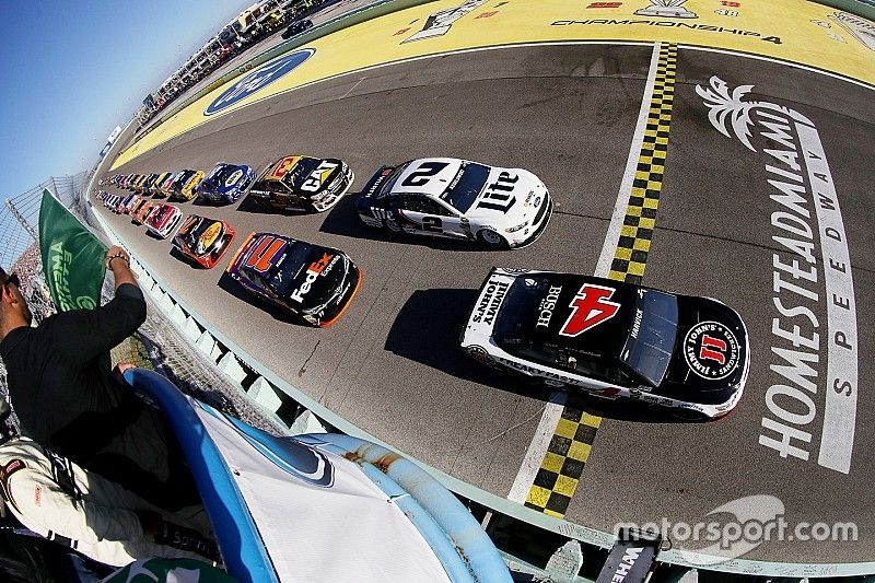 """Kevin Harvick: """"Why is the championship race at Homestead every year?"""""""